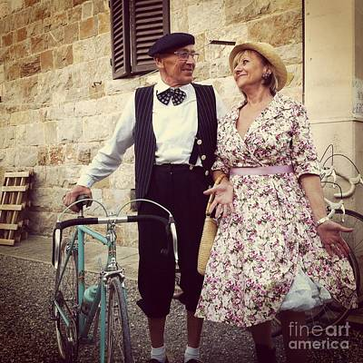 Vintage Love At L'eroica Art Print