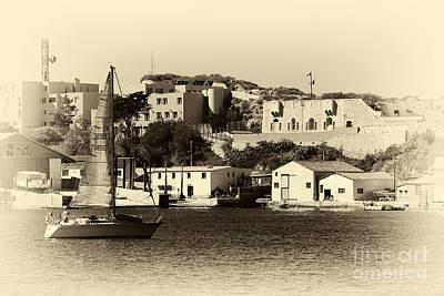 Vintage Marseille Sailing Art Print