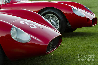 Photograph - Vintage Maserati Pair by Dennis Hedberg