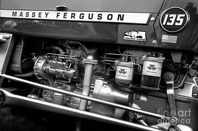 Vintage Massey Ferguson Art Print by Michael Eingle