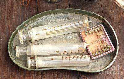 Photograph - Vintage Medical Tools by Yali Shi