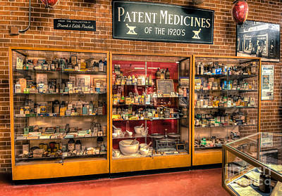 Photograph - Vintage Medicine by Anthony Sacco