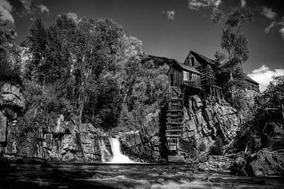 Photograph - Vintage Mill by Ken Smith