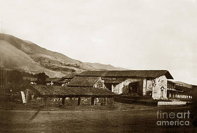 Photograph - Vintage Mission San Jose De Guadalupe California  Circa 1852 by California Views Mr Pat Hathaway Archives