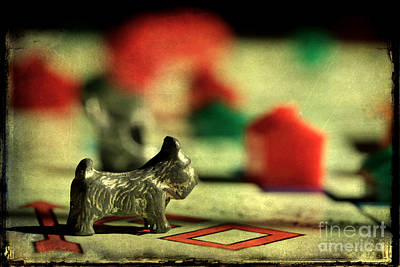 Photograph - Vintage Monopoly by Michael Eingle