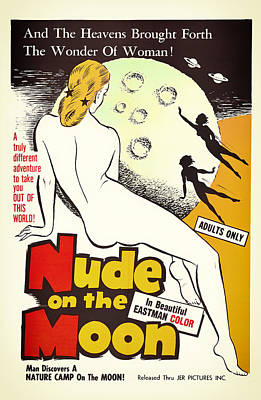 Adult Mixed Media - Vintage Movie Poster 1961 by Mountain Dreams