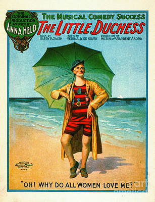Vintage Musical Comedy Playbill 1906 Art Print