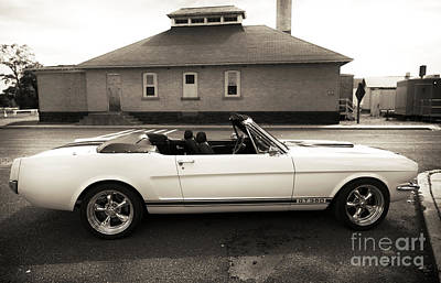 Photograph - Vintage Mustang Gto 350 by John Rizzuto