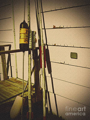Photograph - Vintage Nautical by Desiree Paquette