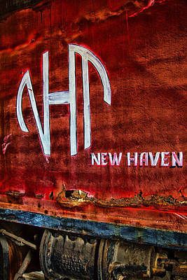 Vintage New Haven Train Art Print