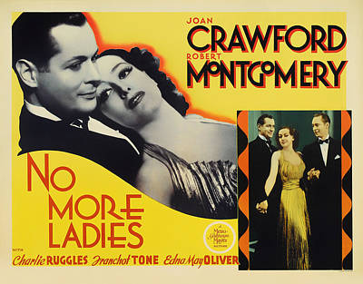 Vintage No More Ladies Movie Poster Art Print by Mountain Dreams