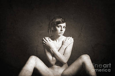 Legs Photograph - Vintage Nude 6 by Jochen Schoenfeld