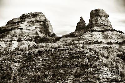 Photograph - Vintage Oak Creek Canyon by John Rizzuto
