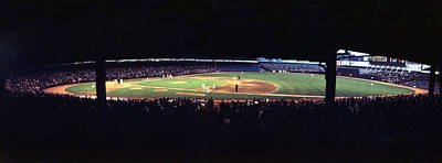 American League Photograph - Vintage Yankee Stadium  by Retro Images Archive