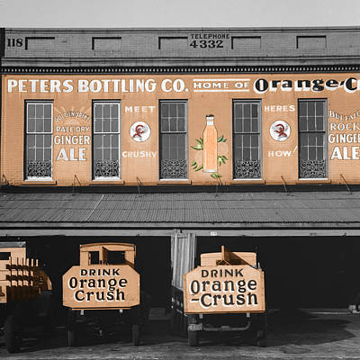 Photograph - Vintage Orange Crush by Andrew Fare