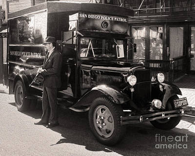 Paddy Wagon Photograph - Vintage Paddy Wagon by Gregory Dyer