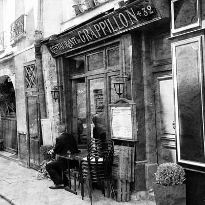 Photograph - Vintage Paris 10b by Andrew Fare