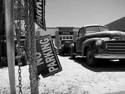 Photograph - Vintage Parking by Paul Foutz
