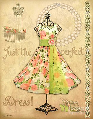 Vintage Party Dress-a Original