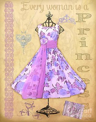 Vintage Party Dress-b Original