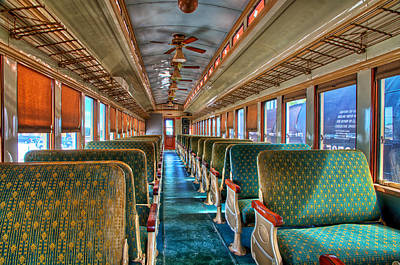 Photograph - Vintage Passenger Car by Thomas Hall