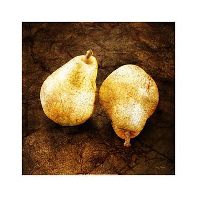 Tinder Digital Art - Vintage Pears by Craig Tinder