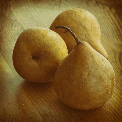 Vintage Pears Art Print