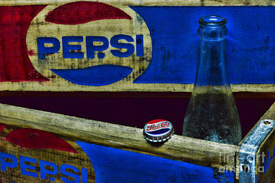 Folk Art Photograph - Vintage Pepsi-cola by Paul Ward
