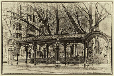 Photograph - Vintage Pergola by David Patterson