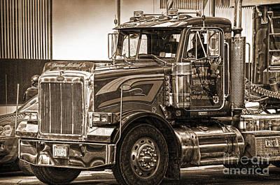 Photograph - Vintage Peterbilt Truck by RicardMN Photography