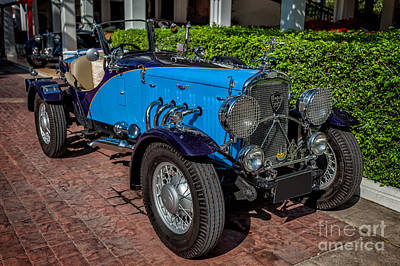 Tyre Photograph - Vintage Peugeot 201 by Adrian Evans