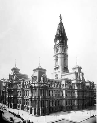 Vintage Philadelphia City Hall Art Print