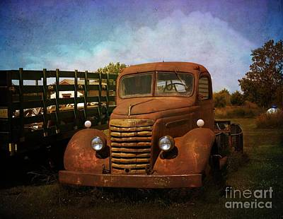 Photograph - Vintage Pickup by Liane Wright