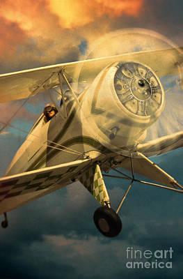 Photograph - Vintage Plane In Flight by Jill Battaglia