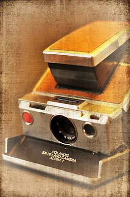 Photograph - Vintage Polaroid by A R Williams