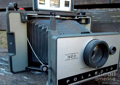 Photograph - Vintage Polaroid Camera 1 by Renee Trenholm