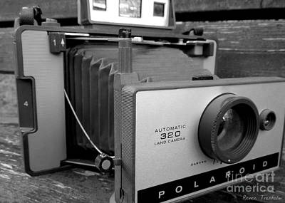 Photograph - Vintage Polaroid Camera 2 by Renee Trenholm