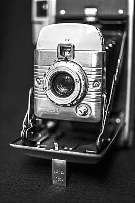 Bellows Photograph - Vintage Polaroid Land Camera Model 80a by Jon Woodhams