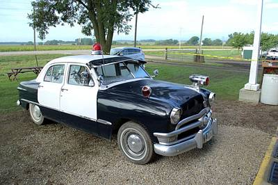 Photograph - Vintage Police Car by Bonfire Photography