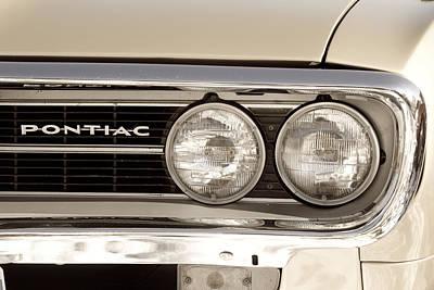 Photograph - Vintage Pontiac Firebird 1967 Close Up by James BO Insogna