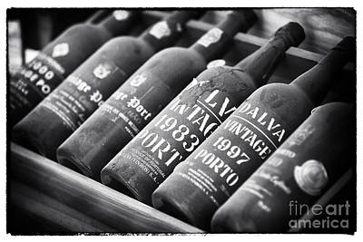 Wine Bottle Images Photograph - Vintage Port by John Rizzuto