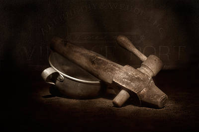 Old Barrels Photograph - Vintage Port Still Life by Tom Mc Nemar