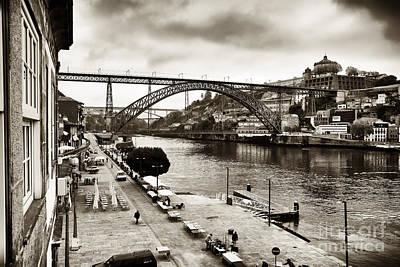 Photograph - Vintage Porto by John Rizzuto