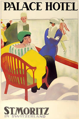 Ad Campaign Drawing - Vintage Poster 1936 by Mountain Dreams