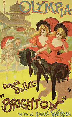 Vintage Poster   Brighton Print by Pal