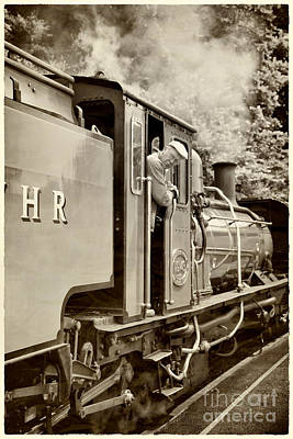Firewood Photograph - Vintage Railway by Jane Rix