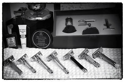 Photograph - Vintage Razors In Vienna by John Rizzuto