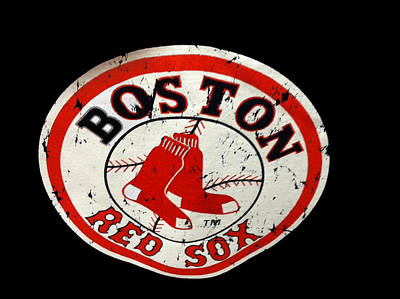 Photograph - Vintage Red Sox by Caroline Stella