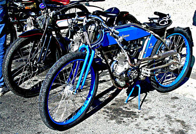 Photograph - Vintage Road Bikes At Isleton 2013 by Joseph Coulombe