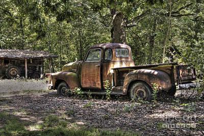 Photograph - Vintage Rust by Benanne Stiens